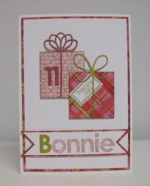 Bonnie's card